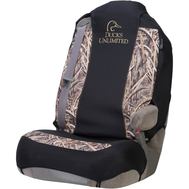 Ducks Unlimited Stacked Logo Universal 2.0 Seat Cover