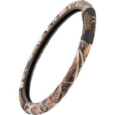 Browning Ducks Unlimited Diamond Stacked Logo 2 Grip Steering Wheel Cover