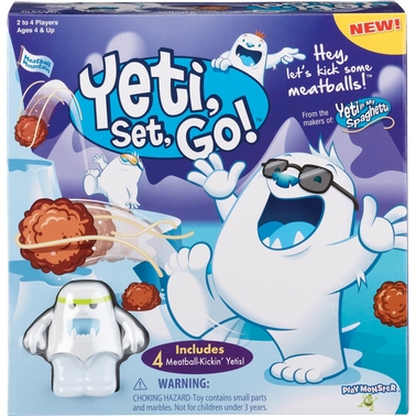 PlayMonster Yeti, Set, Go! Game