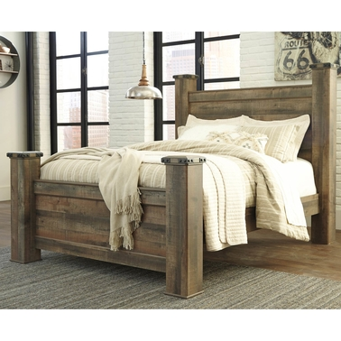 Signature Design by Ashley Trinell Poster Bed