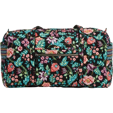 Vera Bradley Iconic Large Travel Duffel, Vines Floral