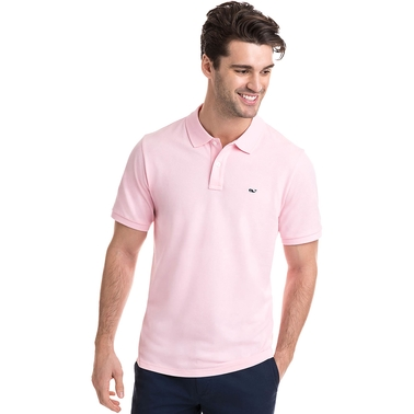 Vineyard Vines Stretch Pique Solid Polo Shirt