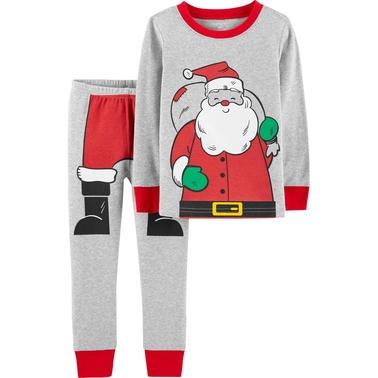 de31505ec Carter's Infant Boys 2 Pc. Santa Claus Pajama Set | Baby Boy 0-24 ...