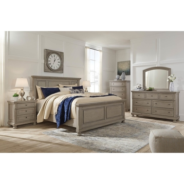 Signature Design by Ashley Lettner Panel Bed 5 pc. Set