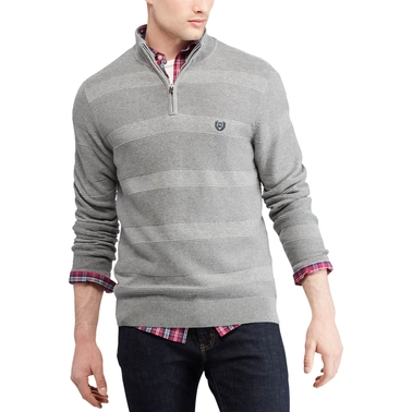 Chaps Cotton Mock Neck Sweater
