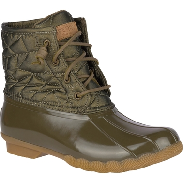 Sperry Saltwater Nylon Quilt Duck Boots