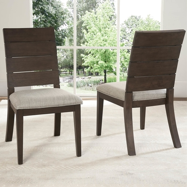 Steve Silver  Elora Solid Wood Ladder-back 2 pk. Dining Chairs