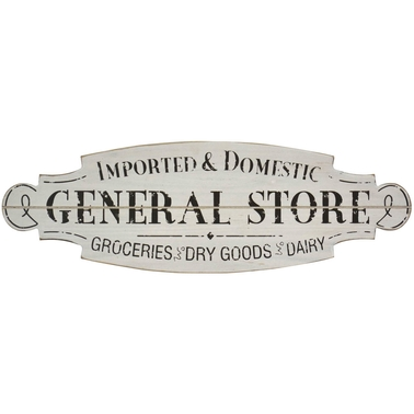 Simply Perfect Wooden General Store Sign