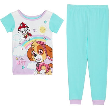 Nickelodeon Toddler Girls PAW Patrol Cotton Pajamas 4 pc. Set