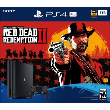 Playstation PS4 Pro Red Dead Redemption 2 Bundle
