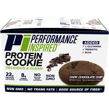 Perfromance Inspired Protein Cookie Dark Chocolate Chip 12ct