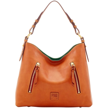 Dooney & Bourke Florentine Cooper Hobo Natural