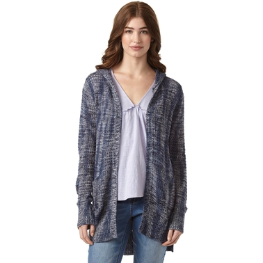 JW Tie Dye Hooded Open Cardigan