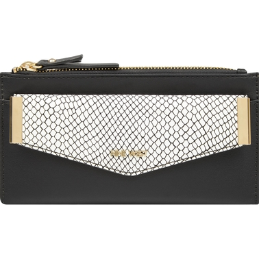 Nine West Double Zip Wallet With Card Case
