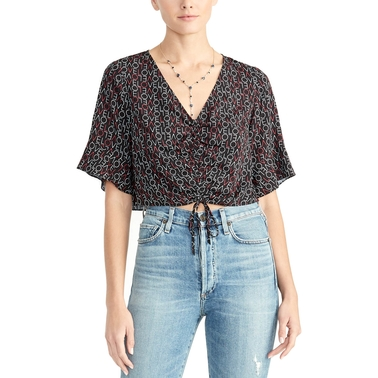 RACHEL ROY SIENA CINCH FRONT TOP