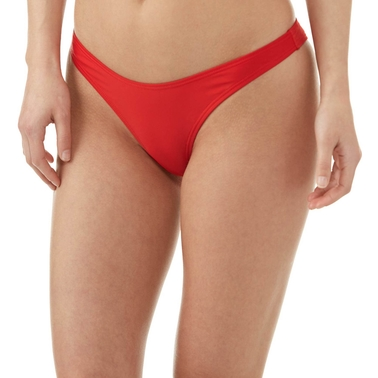 Damsel Juniors Lipstick Red Swimsuit Bottom