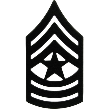 Army Sgm Subdued Pin-on Rank, 2 Pc.   Subdued Pin-on Rank ...