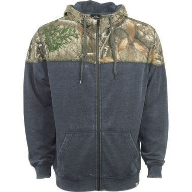 Realtree Shadow Full Zip Fleece Hoodie