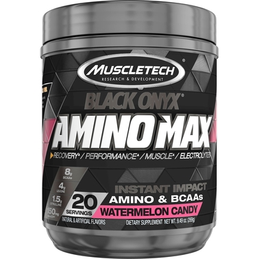 Muscletech SX7 Black Onyx Amino Max Watermelon Candy 20 servings