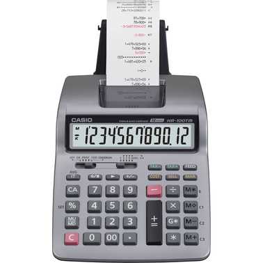 Casio Desktop HR-100TM Printing Calculator