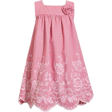 Bonnie Jean Infant Girls Embroidered Float Dress