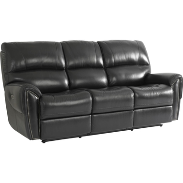 Bassett Manchester Motion Sofa with Power