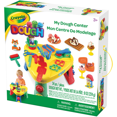 Crayola Modeling Dough My Dough Center 34 pc. Activity Pack