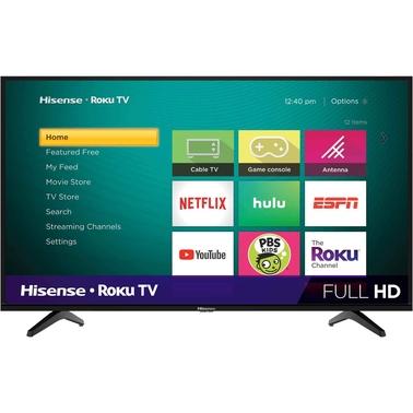 Hisense 40 In  1080p H4 Series Roku Smart Tv | Tvs | Electronics