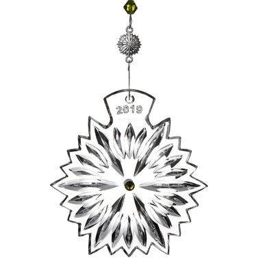 Waterford Snowflake Wishes Prosperity Ornament 2019