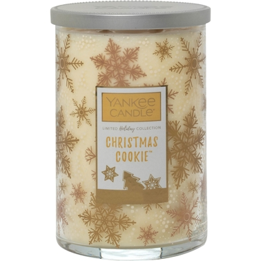 Yankee Candle Merry & Bright Christmas Cookie Large 2-Wick Square Candle