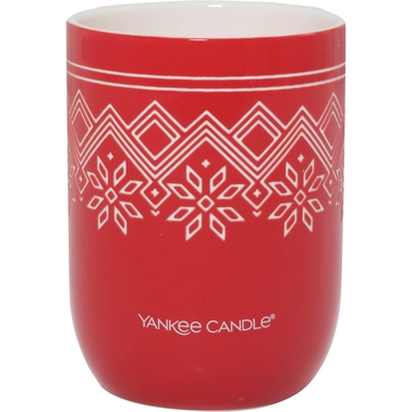 Yankee Candle Nordic Frost Sparkling Cinnamon Ceramic Candle