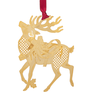 ChemArt Reindeer Nature Designed Ornament