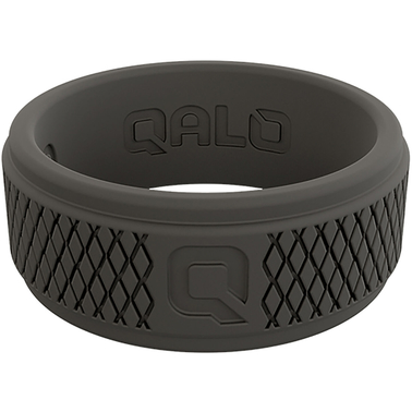 Qalo Men's Crosshatch Q2x Ring