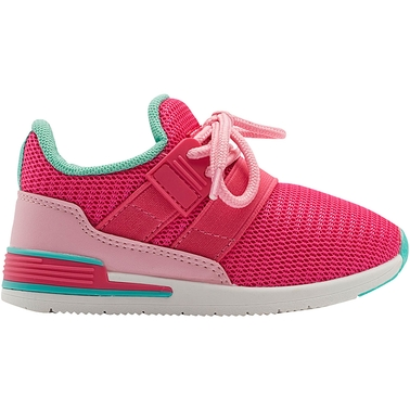 Oomphies Toddler Girls Reese Mesh Athletic Shoes
