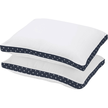 IZOD Gusset Logo Twin Pack Pillows Standard