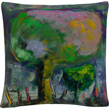 Trademark Fine Art Boyer Manzano De Noche Decorative Throw Pillow