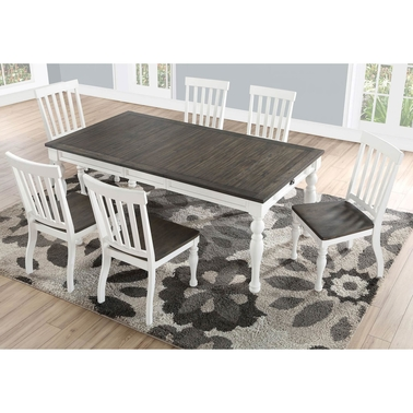 Steve Silver Joanna 7 pc. Two Tone Counter Dining Set