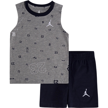 Jordan Toddler AOP Muscle and Short 2PC Set