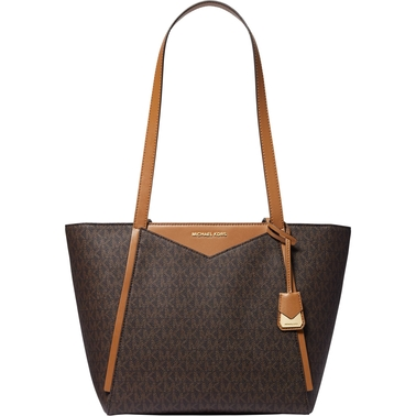 Michael Kors Whitney Small Top Zip Signature Tote