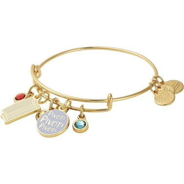 Alex and Ani Friends Couch and Pivot Cluster Expandable Wire Bangle Bracelet