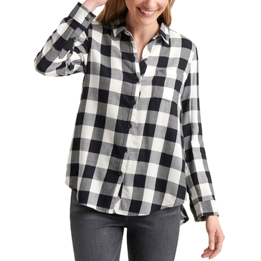 Lucky Brand Classic One Pocket Plaid Shirt