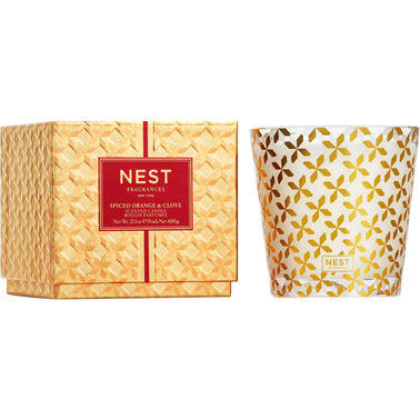 Nest Fragrances Spiced Orange and Clove 3 Wick Candle
