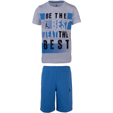Jordan Little Boys 2 pc. Best Tee and Pool Short Set