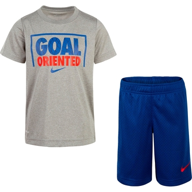 Nike Little Boys Goal Oriented Tee and Shorts 2 pc. Set