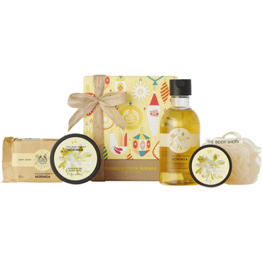 The Body Shop Floral-Fresh Moringa Festive Picks
