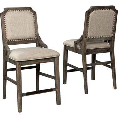 Signature Design by Ashley Wyndahl Upholstered Barstool 2 pk.
