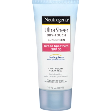 Neutrogena Ultra Sheer Dry Touch Sunscreen Lotion Broad Spectrum SPF 30