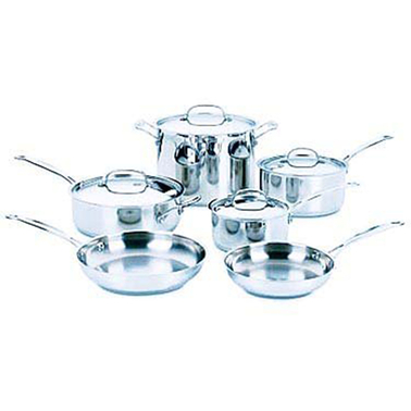 Cuisinart 10 pc. Chef's Classic Stainless Steel Cookware Set