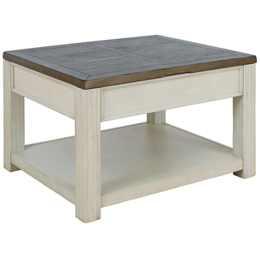 Signature Design by Ashley Bolanburg Lift Top Coffee Table