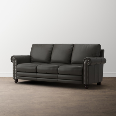 Bassett Jackson Leather Sofa
